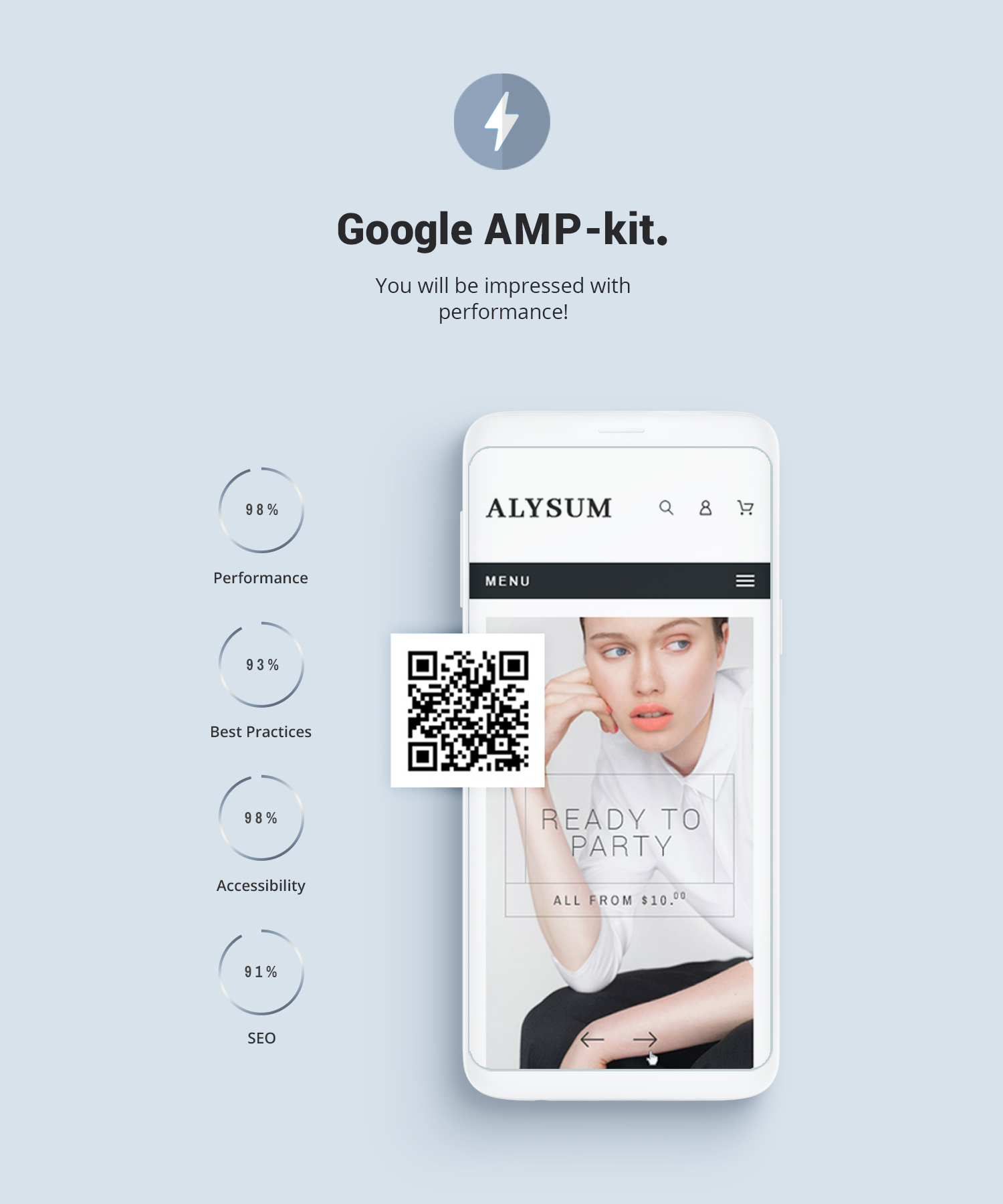 Prestashop AMP (Accelerated Mobile Pages)